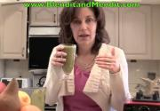 Blended Anti Aging Sweet Vegetable Smoothie