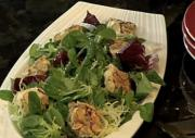 Homemade Warm Goat Cheese Salad