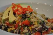 Sesame Beef Quinoa Salad