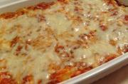 Microwave Baked Ziti