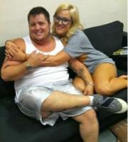 Chaz Bono and his dance partner Lacey Schwimmer