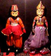 A Puppet Show in Udaipur