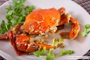 Shelled crab