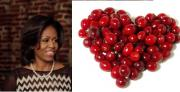 Michelle Obama doesn't like cranberries anymore!