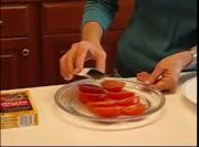 Betty's Spicy Sprinkled Sliced Tomatoes Side Dish