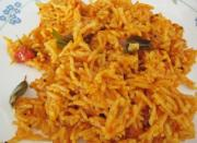 Delicious tomato rice for kids