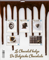 Belgium Post office launches Chocolate Stamps