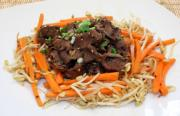 Korean Beef With Oyster Sauce