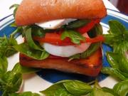 Betty's Inviting Caprese Sandwich