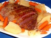 Corned Beef Glazed