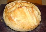 No Knead Bran Bread