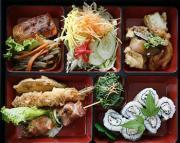 Dishes in Natsunoya Tea House