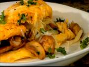 Mushroom and Gruyere Omelet