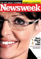 Sarah Palin Gets a Second Hit from Newsweek Magazine!