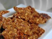 Sugar Pecan Crisp Cookies