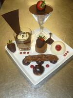 Chocolate garnishes