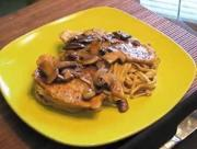 Chicken in Marsala And Mushroom Sauce