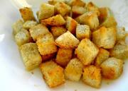 Herbed Garlic And Parmesan Croutons