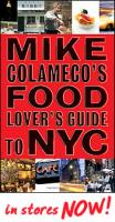 "Book review - ""Mike Colameco's Food Lover's Guide to New York City"""