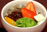 Japanese Fruit Cream Anmitsu
