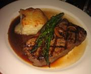 Steak with Wine Sauce