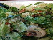 Lettuce and Mushroom Salad