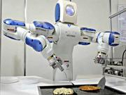 The Chinese Food Cooking Robot