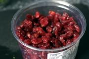 Tips on storing dried cranberries
