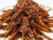 Betty's Nutty Chocolate Dipped Pretzels