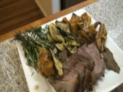How to Roast Beef with Garlic and Rosemary