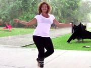 1426539092 African Fusion Basic Steps 28 Shimmy Arms Giving Movement Thumb