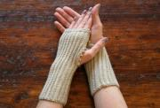 Fingerless Mitts