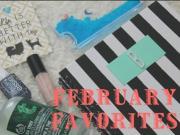 Feb Favs