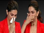 Deepika Padukone Cries On Tv