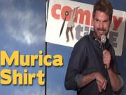 Stand Up Comedy By Michael Larimer Murica Shirt