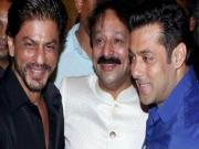 Shahrukh Salman Hug Again At Baba Siddiquis Iftaar Party 2014