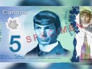 Spock Reappears On Canadian Currency After Nimoys Death