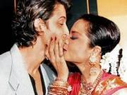 Hrithik Roshan Rekhas Most Embarrassing Kiss In Public