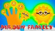 Mr Sun Finger Family