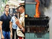 Hrithik Roshans Office Building Catches Fire Exclusive Video