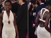 Lupita Nyongo 150000 Pearl Oscar Dress Stolen