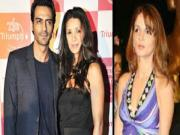 Suzzane Khan Arjun Rampal And Mehr Rampal Triangle Controversy