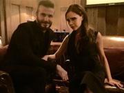 David Beckham Gets Cuddly With Victoria