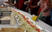 Holy Guacamole Chefs Prepare Giant One Ton Enchilada