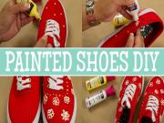 Diy How To Add Style To Shoes Using Fabric Paint