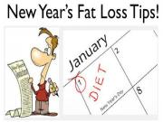 New Years Resolution Fat Loss Diet Tips To Control Your Hunger