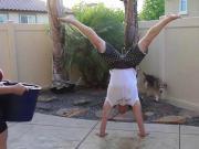 Gymnast Als Ice Bucket Challenge