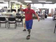 Boston Bombing Survivors Try Out New Prosthetics