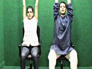 Chair Yoga Exercise