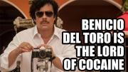 Benicio Del Toro About Filming His Pablo Escobar Movie